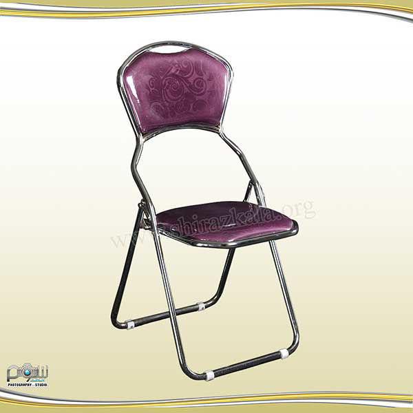 صندلی تاشو بنفش