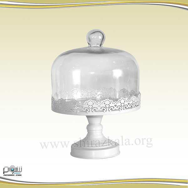تصویر ظرف کاپ کیک دربدار سفید