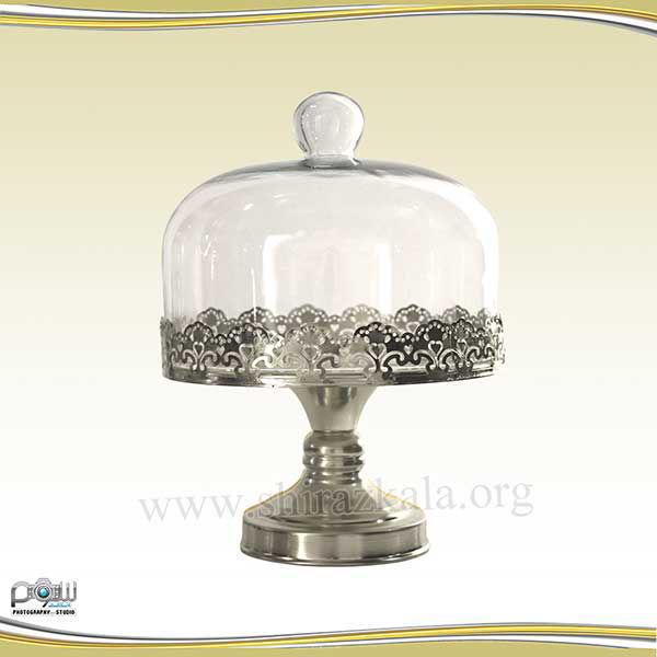 تصویر ظرف کاپ کیک دربدار نقره ای